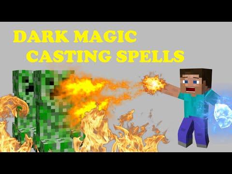 Dark Magic with Jragon E2 | Casting Spells - Minecraft