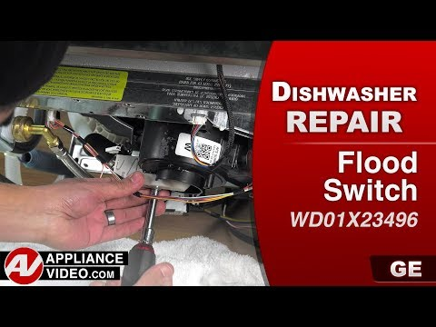 GE Dishwasher - Flood Switch Assembly problem - Repair & Diagnostic