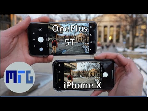 OnePlus 5T vs iPhone X Camera Test Comparison