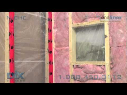How To Install Recessed Shower Shelf by Dix Systems