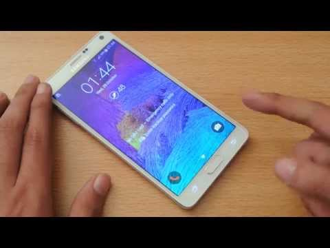 Samsung Galaxy Note 4 Fingerprint Sensor Review HD