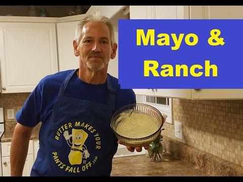Butter Bob's Mayo and Ranch Dressing