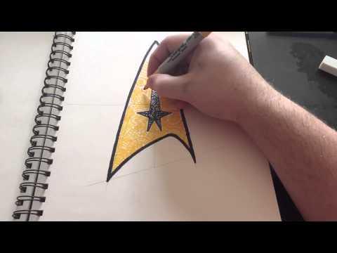 Sunday Doddle | Star Trek Badge | ZenArt