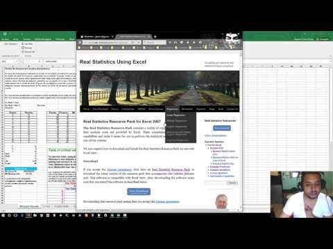 Como instalar Real Statistic en Excel 2016