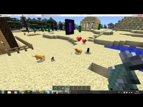 Minecraft, how to make ocelot (cat) your pet