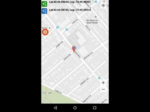 gps coordinates android app