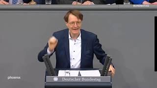 Karl Lauterbach zur Organspende am 16.01.20