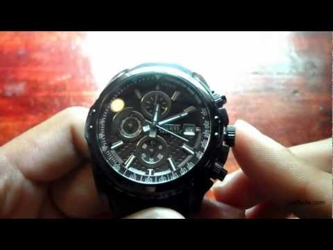 Guess Watch Guide on How To Adjust Time & Use Stopwatch (W17540G2 50m Water Resistant)