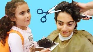 Okula Dönüş   Ege Saçlarını Kestiriyor   UmiKids