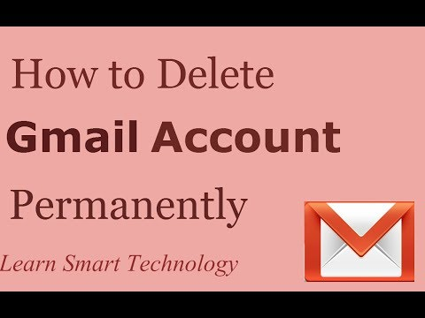 How to Delete Gmail Account Permanently | Delete Gmail Account | Remove Gmail Account