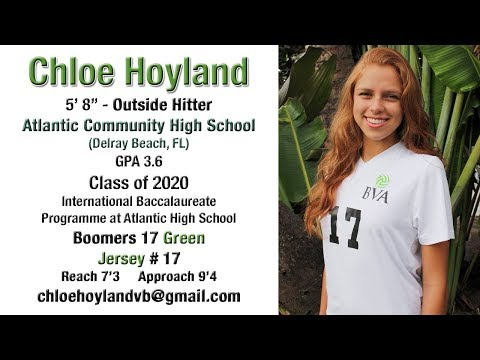 Chloe Hoyland - Class of 2020 🏐🏐 Volleyball Recruiting Highlight Video 🏐🏐
