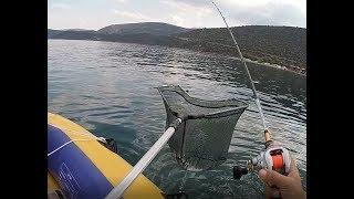 Ψάρεμα Τσιπούρας με καθετή - Δόλωμα Γαρίδα (HD)
