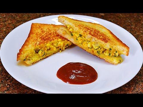 Quick Breakfast: Boiled egg sandwich