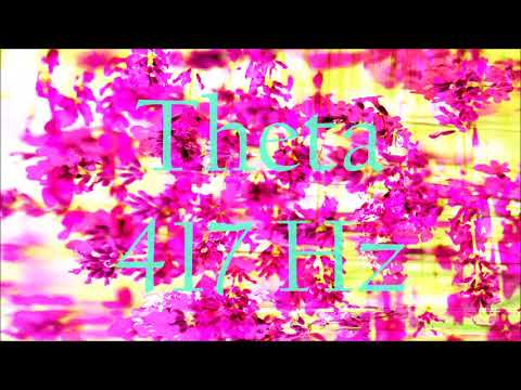 Theta Wave 417 Hz Solfeggio Meditation Music | Release Fear + Stress