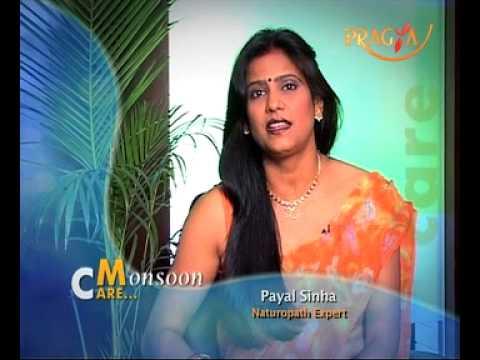 Face Glow- Payal Sinha- Naturapath Expert- Monsoon quotes on Pragya TV