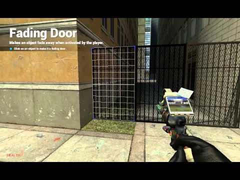 how to make a fading door