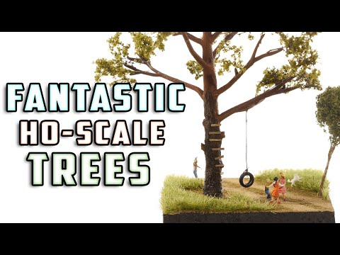 Realistic Trees for Your Model Layout - How-To - Model Railroad