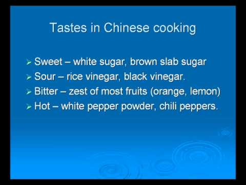 Art of Chinese Cooking - Food Basics Part 7