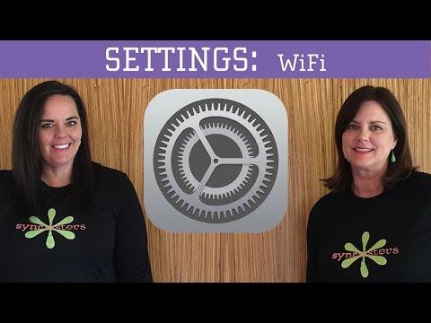 iPhone / iPad Settings - WiFi