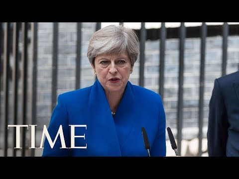 Prime Minister Theresa May Addresses Future Of The UK After Returning From Buckingham Palace | TIME