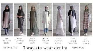 Modest Fashion | Style Guide - 7 Ways to Wear Denim