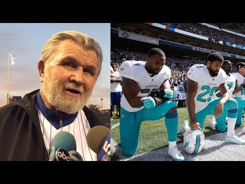 Mike Ditka WARNS Players About Kneeling During National Anthem During 9/11 Game