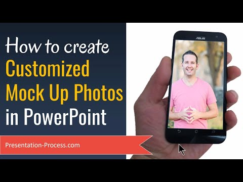 How To Customize Mock Ups With Photos in PowerPoint
