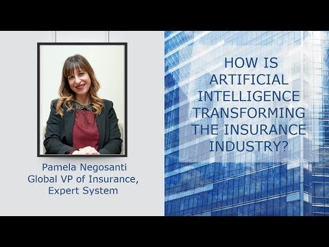 How is Artificial Intelligence transforming the Insurance Industry - Interview with Pamela Negosanti