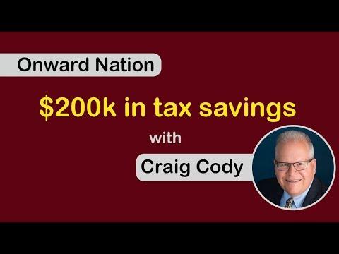 Onward Nation: $200k in tax savings, with Craig Cody