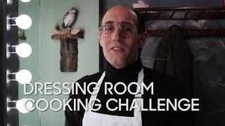Dressing Room Cooking Challenge: Frank Pellegrino Jr.