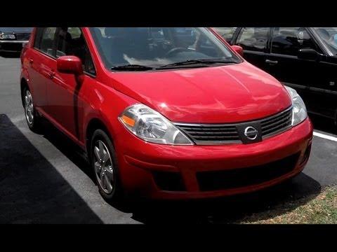 Nissan Versa Tiida basic oil change - VOTD