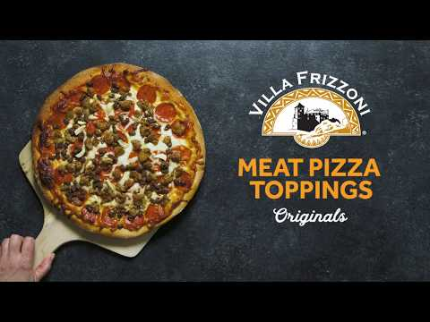 Villa Frizzoni® Pizza Toppings - Overview