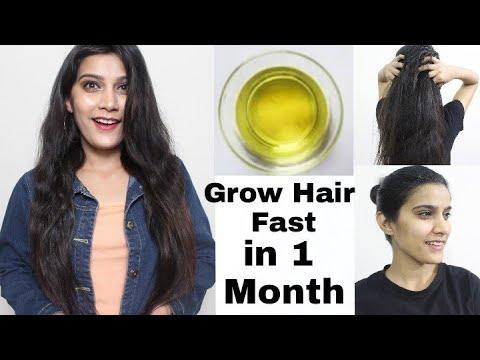 My Grandma's Secret Recipe for Double Hair Growth- Hair Oil To get Long Hair, No Hair fall