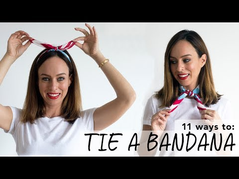 How To Tie a Bandana I Easy Tutorial