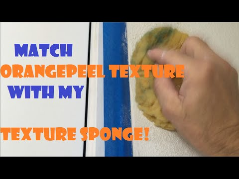 Orange Peel Texture- How to match it with my Orange Peel Texture Sponge