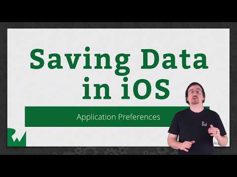 Application Preferences -  Saving Data in iOS - raywenderlich.com