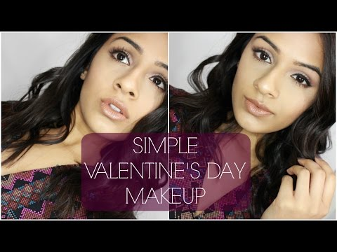 Simple Valentine's Day Makeup  Day & Night look   Date Night   Indian/Brown Skin