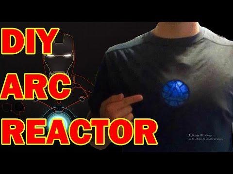HOW TO MAKE AN IRON MAN ARC REACTOR!