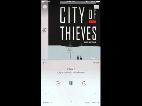 Audiobooks in iOS 8.4 Beta 1