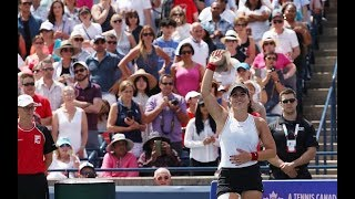 2019 Toronto highlights   Bianca Andreescu's top shots