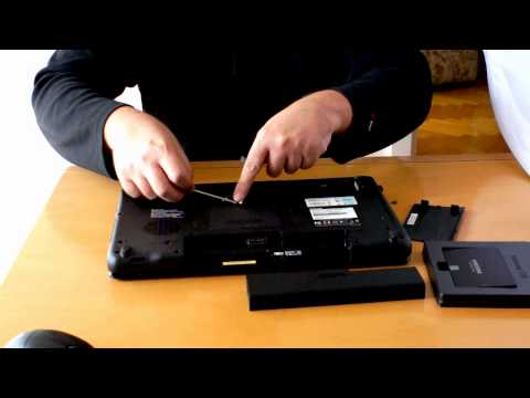 How to upgrade HDD to a SSD on the Toshiba laptop