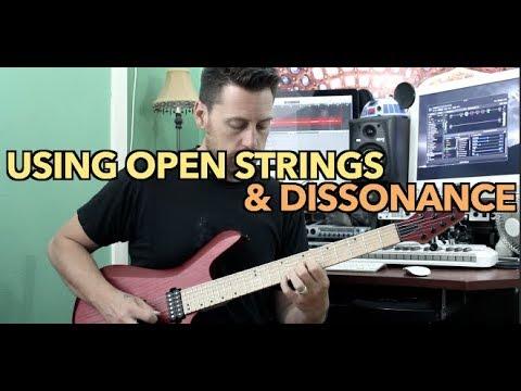 Using Open String Dissonance