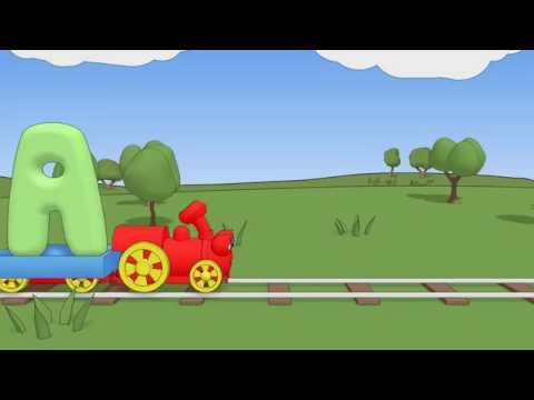 Learning The Alphabet: Teach Toddler to Recognize Letters (Choo Choo Train Episode #3)