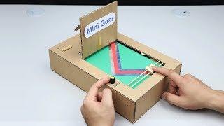 How to make Slide Game - Amazing Cardboard Game DIY