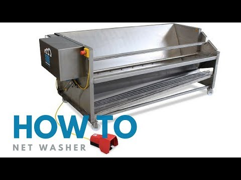 Mushroom Machinery - Discover the Net Washer for Growing Nets