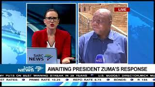 Awaiting President Zuma