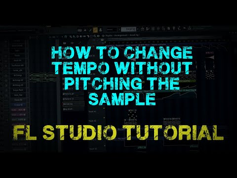 [FL Studio 12] How to change Tempo without pitching the sample