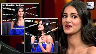 Download Ananya Pandey's Koffee Debut Becomes A Meme Game | LehrenTV Video