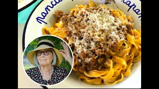 Pasta Grannies meet a fettuccine-making 89 year old Instagram star