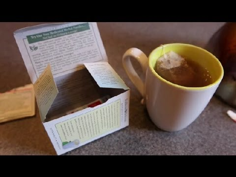 How to Make Parsley & Ginger Tea : Types of Tea